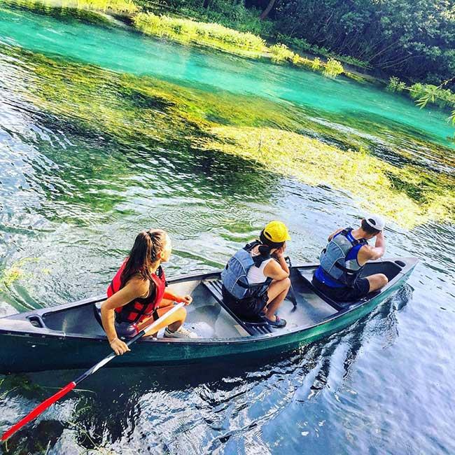 fiume tirino avventura