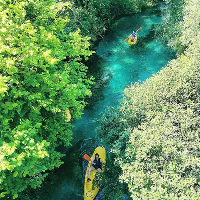 fiume tirino stupore