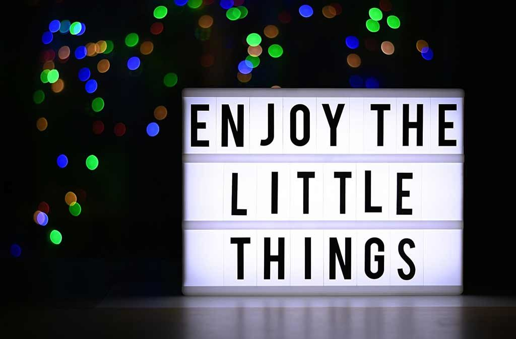 piacere delle piccole cose